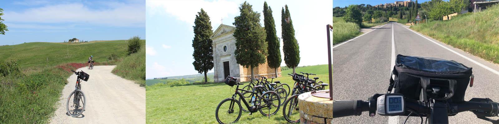 barra per ebike Cycling & Yoga  in Tuscany