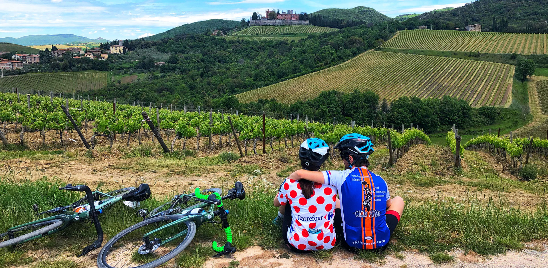 why cycling in tuscany